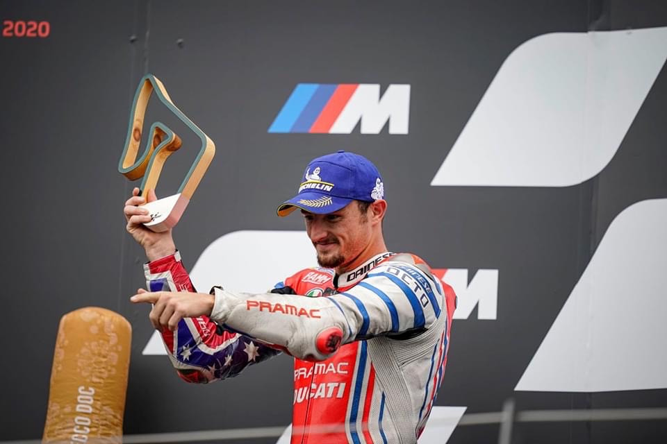 Great second place for Jack Miller in Austria